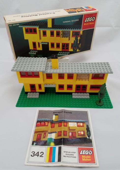 Lego 342 Terminal Building image