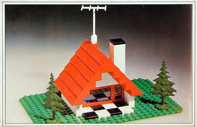 Lego 344 Bungalow image