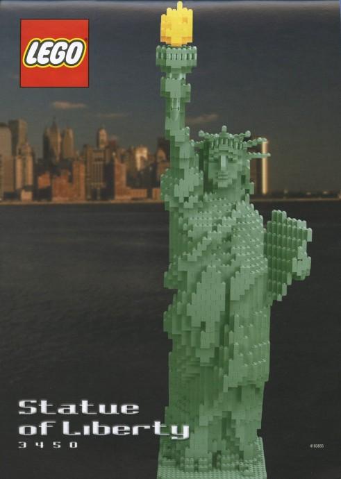 3450 1 Statue Of Liberty Brickset Lego Set Guide And Database