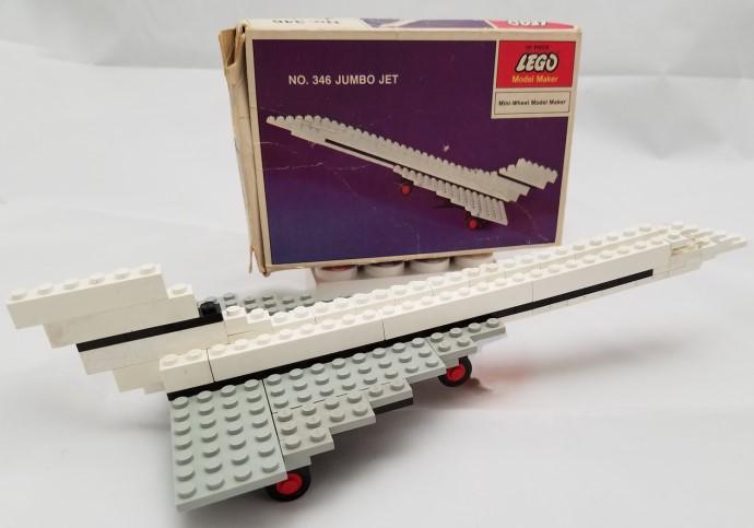 Изображение набора Лего 346 Jumbo Jet