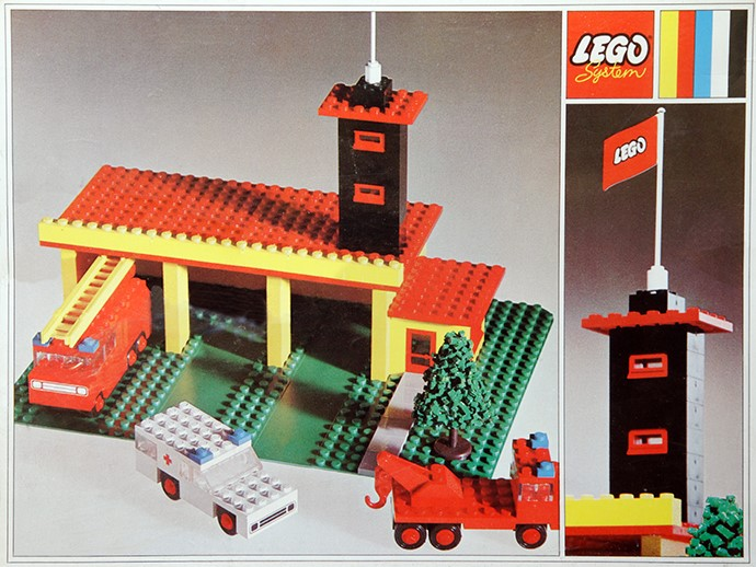 Lego 347 Fire Station image