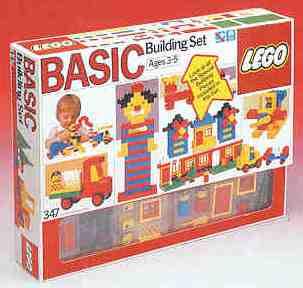 Изображение набора Лего 347 Basic Building Set