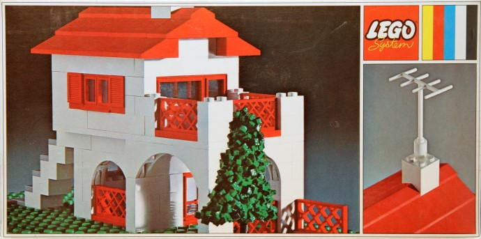 Lego 350 Spanish Villa image