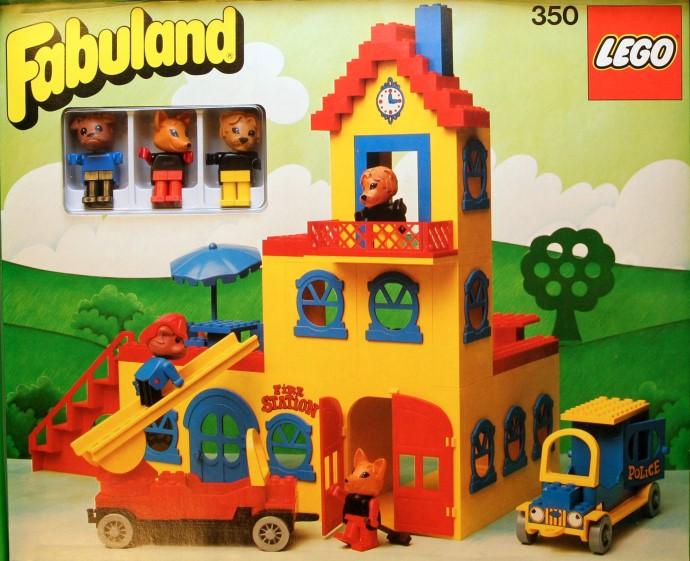 Lego 350 Town Hall image