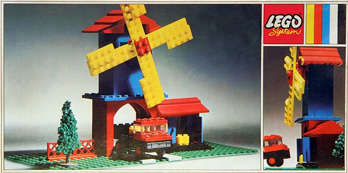 Lego 352 Windmill and Lorry image