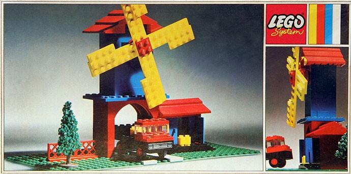 Изображение набора Лего 352 Windmill and Lorry