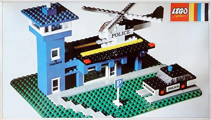 Изображение набора Лего 354 Police Heliport