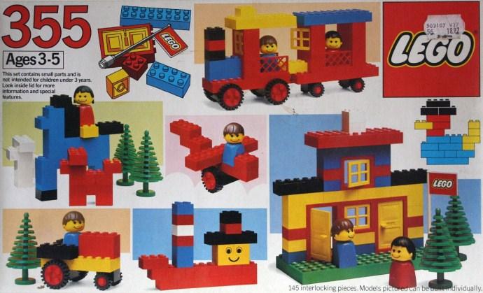 Изображение набора Лего 355 Universal Building Set