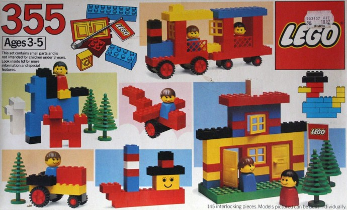 Lego 355 Universal Building Set image