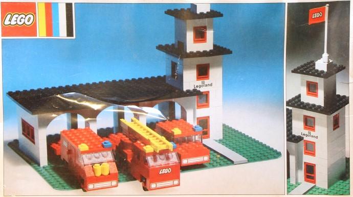 Lego 357 Legoland Fire House image
