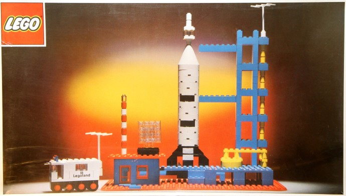 Lego 358 Rocket Base image