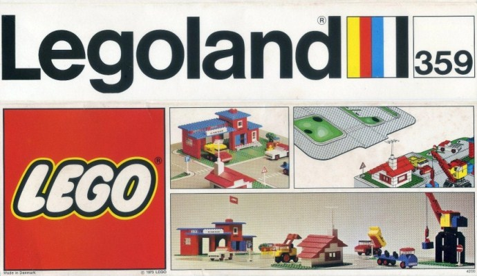 Изображение набора Лего 359 Environment Plate