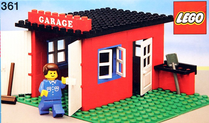 361 2 Garage Brickset Lego Set Guide And Database