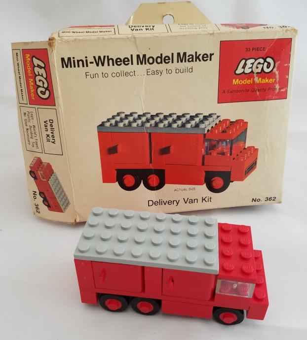 Изображение набора Лего 362 Delivery Van