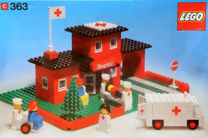 Lego 363 Hospital image