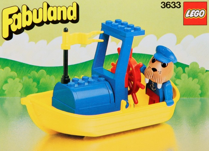 how to build a lego motor boat