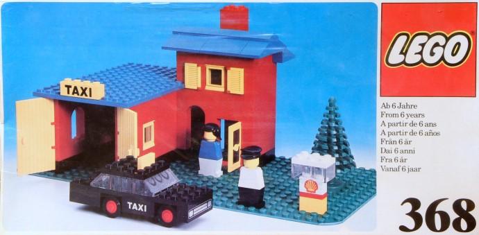 Lego 368 Taxi Garage image