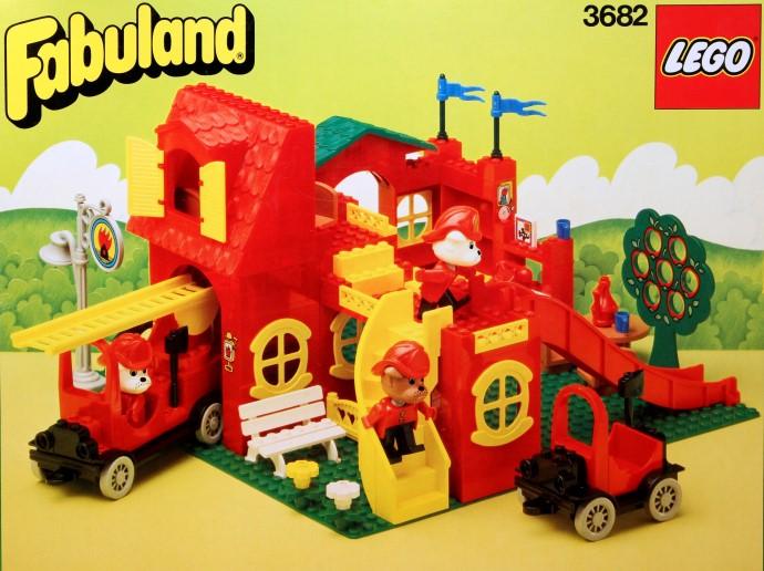 Изображение набора Лего 3682 Fire Station