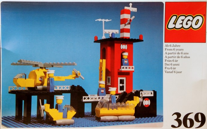 Lego 369 Coast Guard Station image