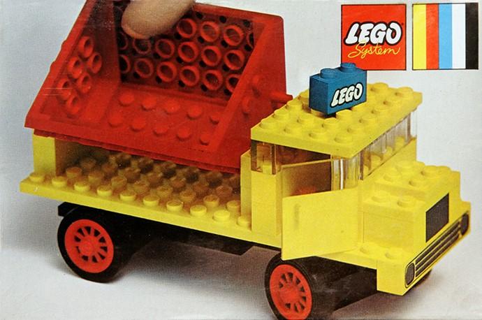 Изображение набора Лего 371 Tipper Truck