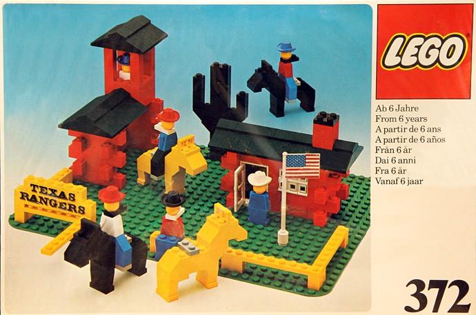 Изображение набора Лего 372 Texas Rangers