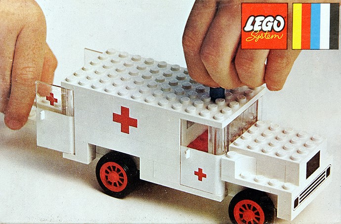 lego ambulance helicopter instructions