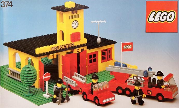 Lego 374 Fire Station image