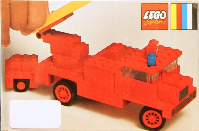 Изображение набора Лего 374 Fire Engine