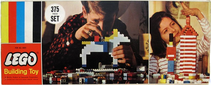 Изображение набора Лего 375 Deluxe Basic Set