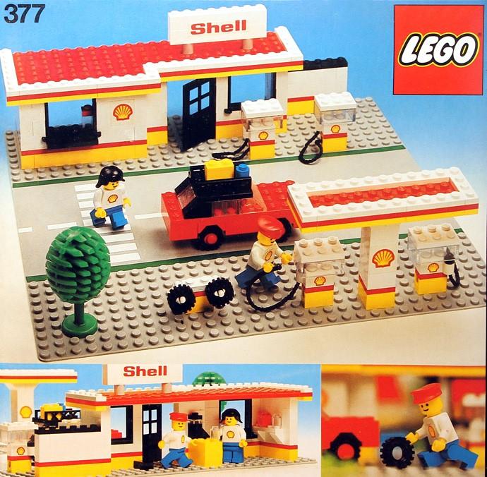 Lego 377 Shell Service Station image