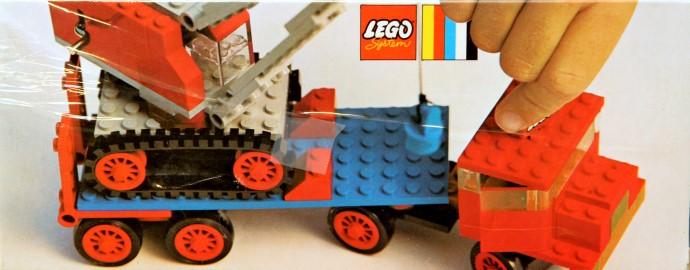 Изображение набора Лего 377 Crane and Float Truck
