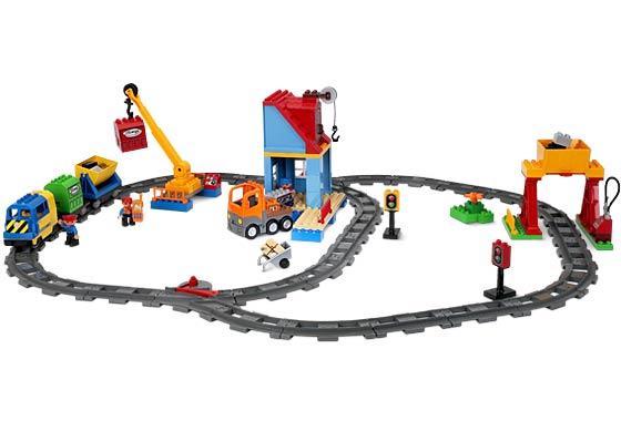 3772 1 deluxe train set brickset lego set guide and. Black Bedroom Furniture Sets. Home Design Ideas