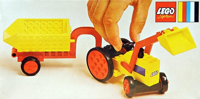 Изображение набора Лего 378 Tractor