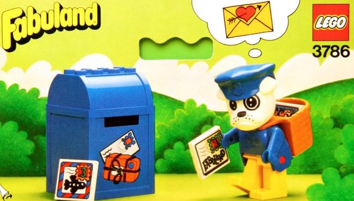 Изображение набора Лего 3786 Boris Bulldog