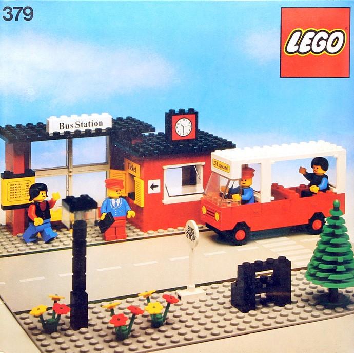 Lego 379 Bus Station image