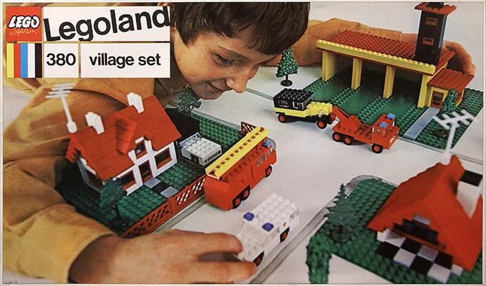 Lego 380 Village Set image