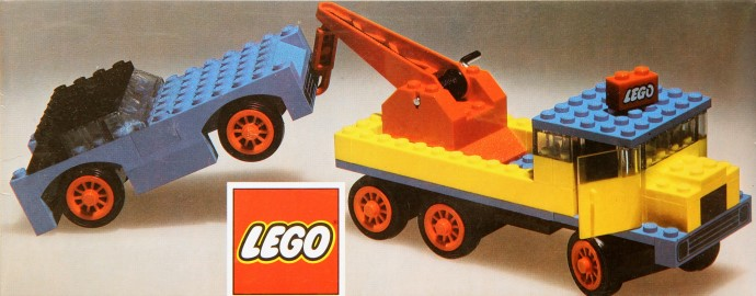 Lego 382 Breakdown Truck and Car image