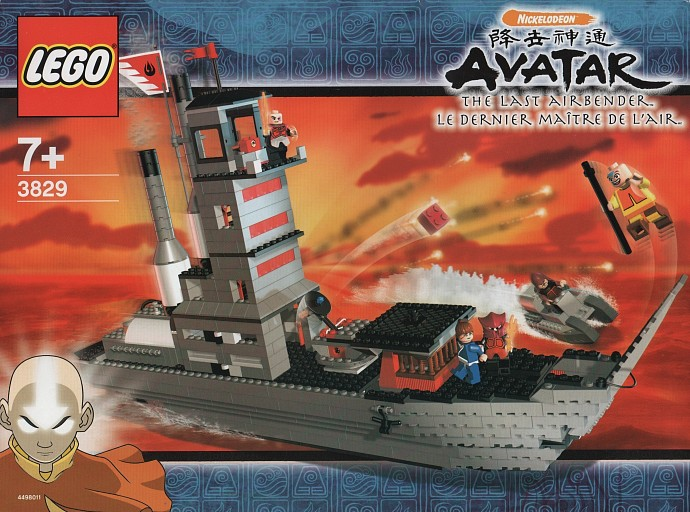 Featured Set Of The Day Fire Nation Ship Brickset Lego Set Guide And Database