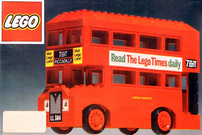 Lego 384 London Bus image