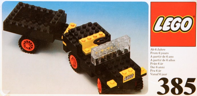 Lego 385 Jeep with Steering image