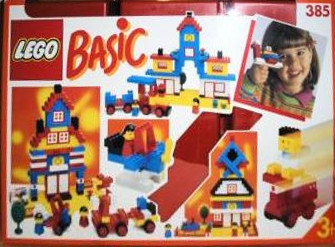 Lego 385 Basic Building Set, 3+ image