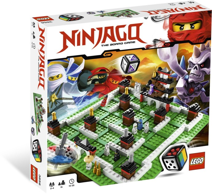 3856-1: ninjago: the board game | brickset: lego set guide and database