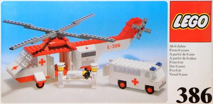 Lego 386 Air Ambulance image