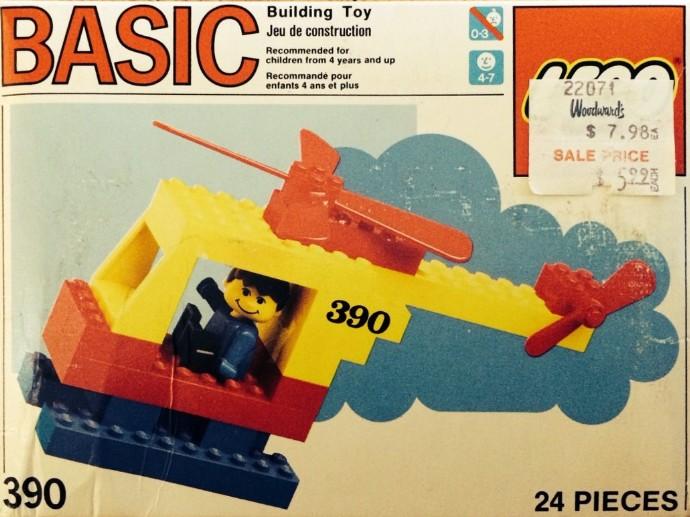 Lego 390 Helicopter image