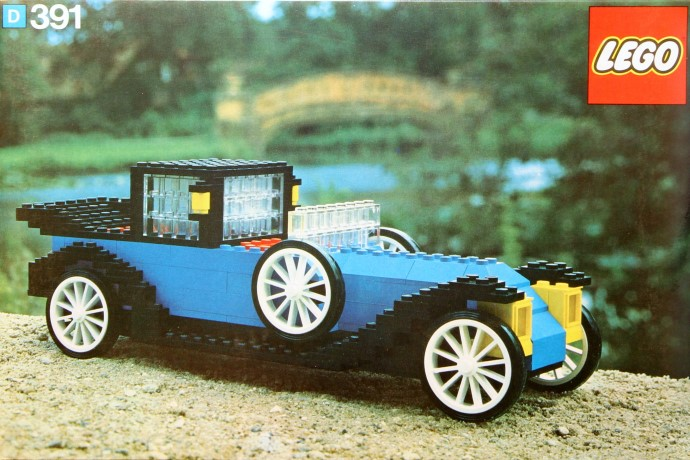 Изображение набора Лего 391 1926 Renault