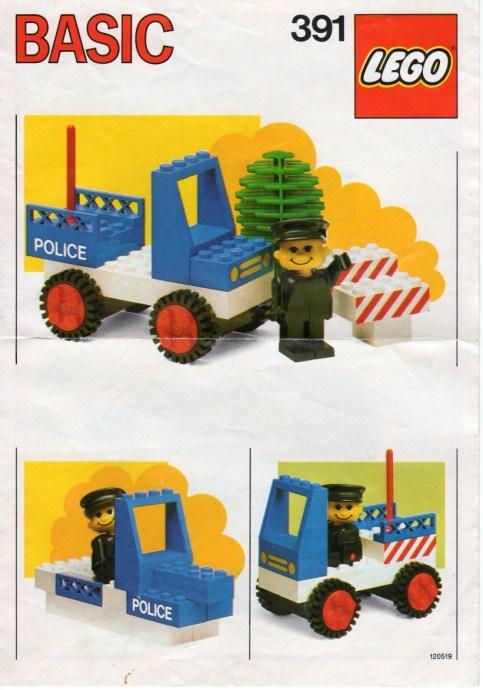 Lego 391 Police Car image