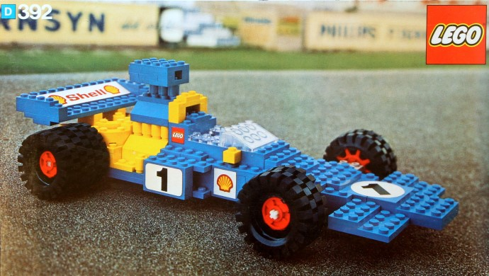 Lego 392 Formula 1 image