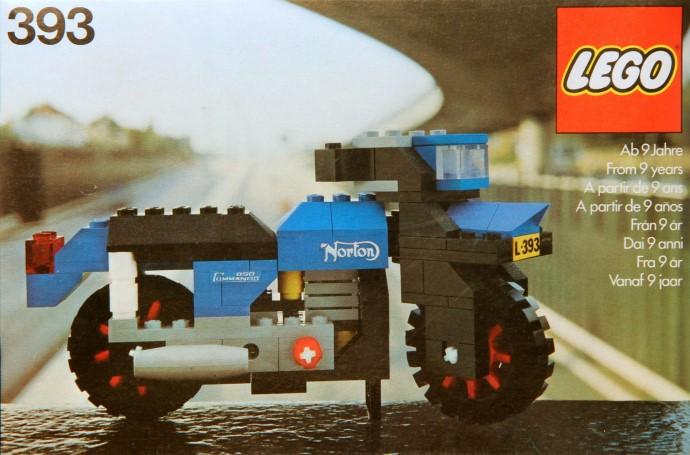 Изображение набора Лего 393 Norton Motorcycle