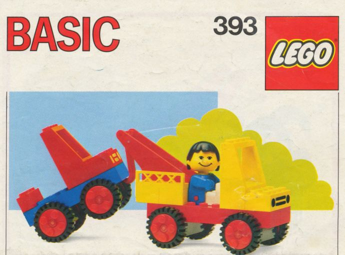 Lego 393 Tow Truck image