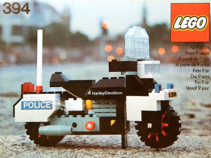Изображение набора Лего 394 Harley-Davidson 1000cc